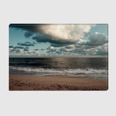 Холст Утро над морем