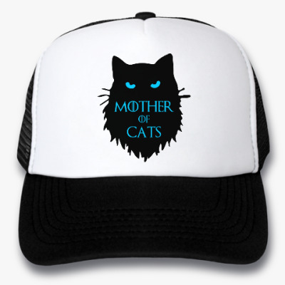 Кепка-тракер Mother of cats