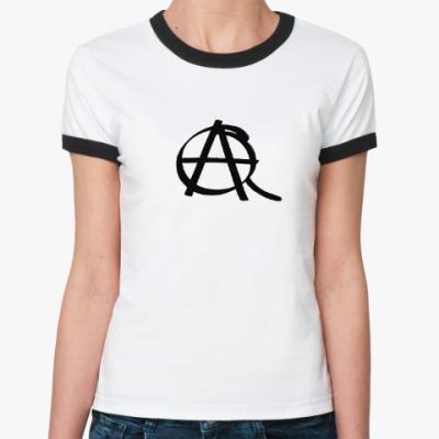 Женская футболка Ringer-T QA