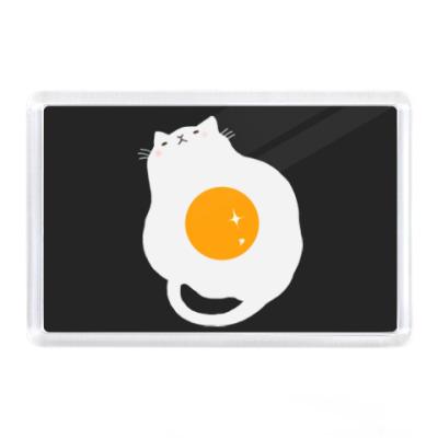 Магнит Кот-яичница