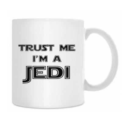 Кружка Trust me, I'm a Jedi