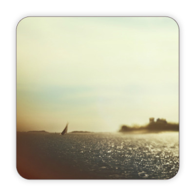 Костер (подставка под кружку) Теплое море