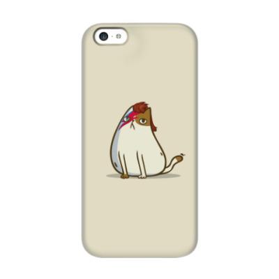Чехол для iPhone 5c Боуикот — Пятничный Котик №38