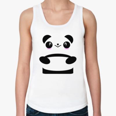 Женская майка Панда