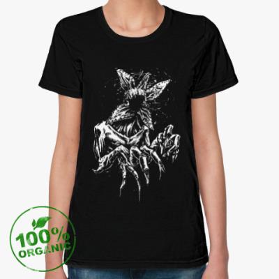 Женская футболка из органик-хлопка Очень странные дела
