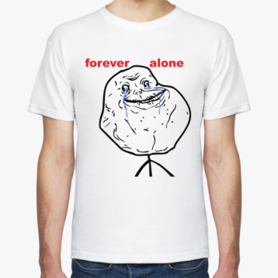 Футболка Forever Alone