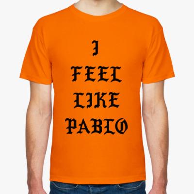 Футболка Kanye West - I Feel Like Pablo (Канье Уэст)