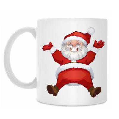 Кружка Happy Santa