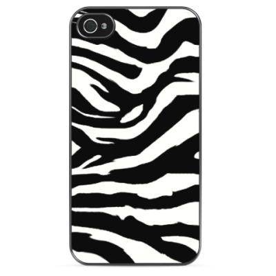 Чехол для iPhone Zebra