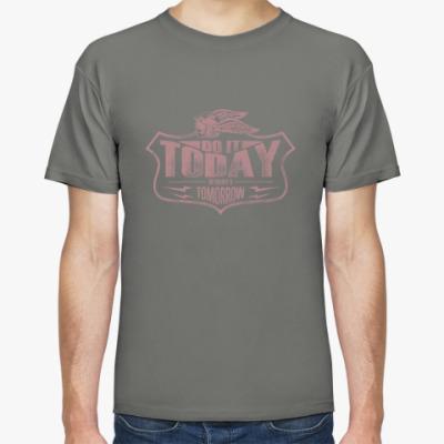 Футболка Мужская футболка Stedman, сине-серая
