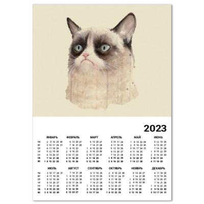 Календарь Grumpy Cat / Сердитый Кот