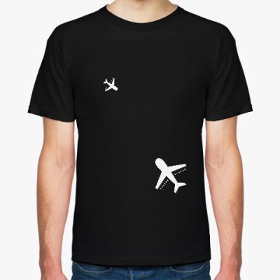 Футболка самолеты