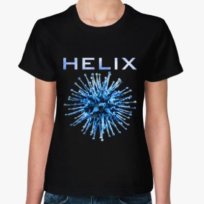 Женская футболка Helix