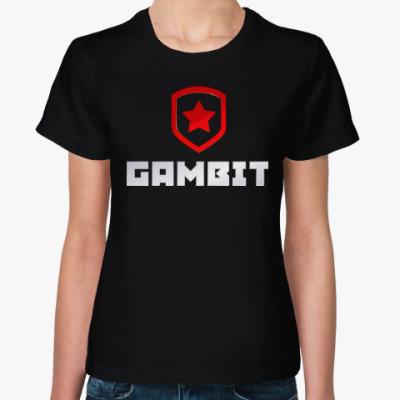Женская футболка Gambit Gaming