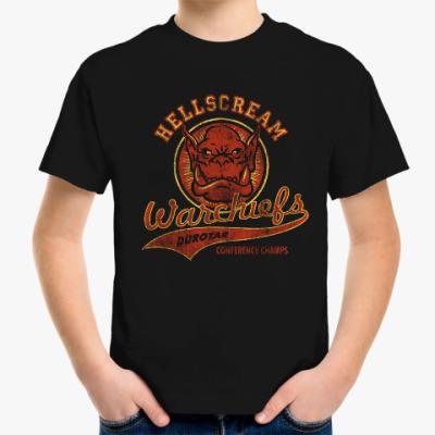 Детская футболка World of Warcraft. Орки