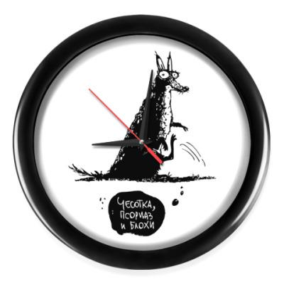 Настенные часы Чесотка, псориаз и блохи