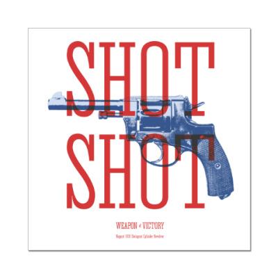 Наклейка (стикер) Оружие СССР