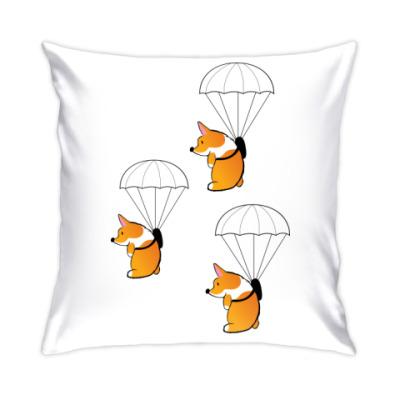 Подушка смешные собаки корги