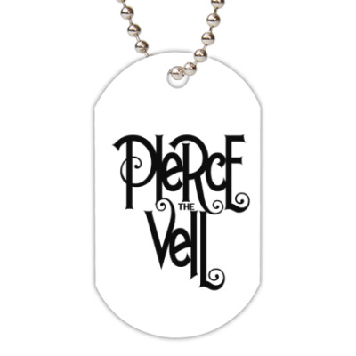 Жетон dog-tag 'Pierce the Veil'