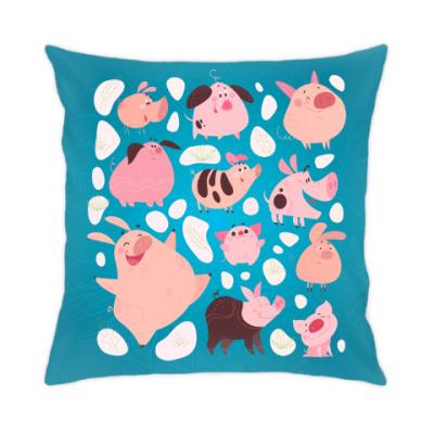 Подушка Свинки