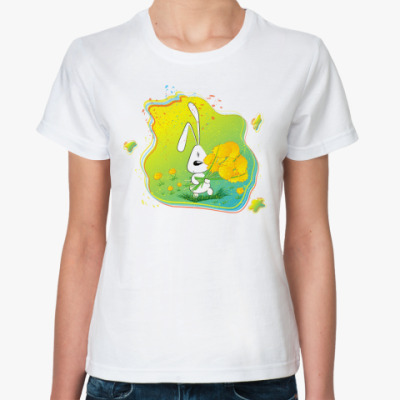 Классическая футболка Заяц