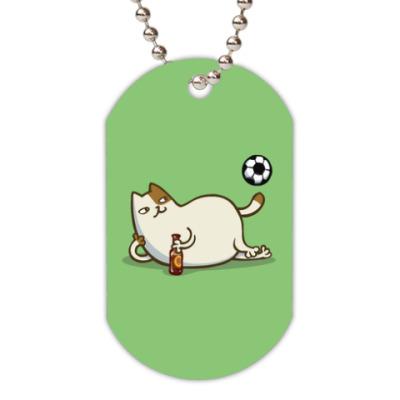 Жетон dog-tag Пятничный Котик №16
