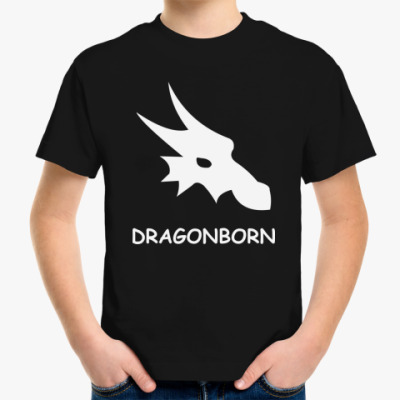 Детская футболка dragonborn