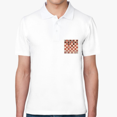 Рубашка поло Рубашка поло  шахматы