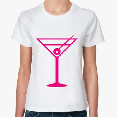 Классическая футболка бокал