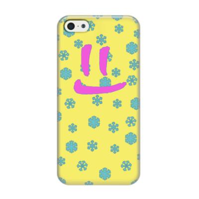 Чехол для iPhone 5/5s Снежная улыбка
