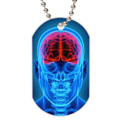 Жетон dog-tag X-Ray Man