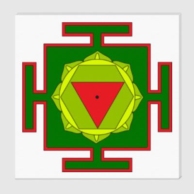 Холст Тара-янтра для медитаций