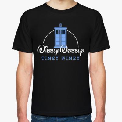 Футболка Wibbly Wobbly Timey Wimey