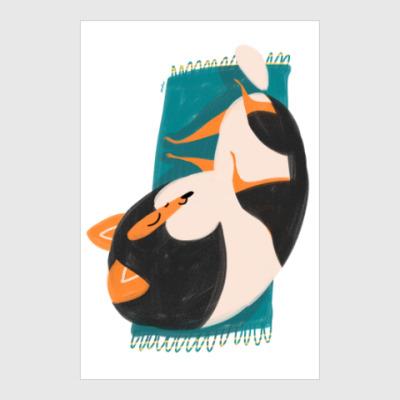 Постер Спящий шелти