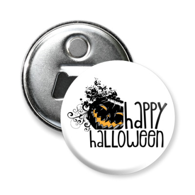 Магнит-открывашка Happy Halloween!