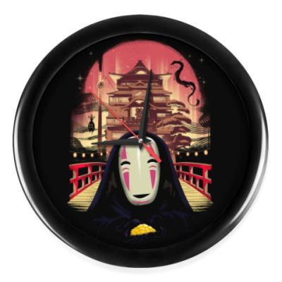 Настенные часы Унесенные призраками Миядзаки