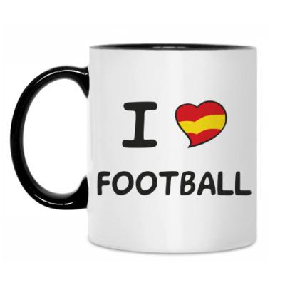 Кружка Я люблю испанский футбол