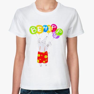 Классическая футболка Муравьед