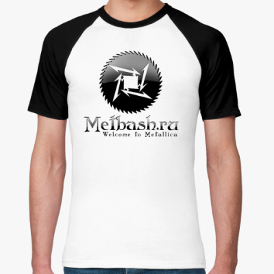 Футболка реглан Metbash Gothic R-Shirt