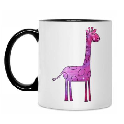 Кружка Космический Жираф