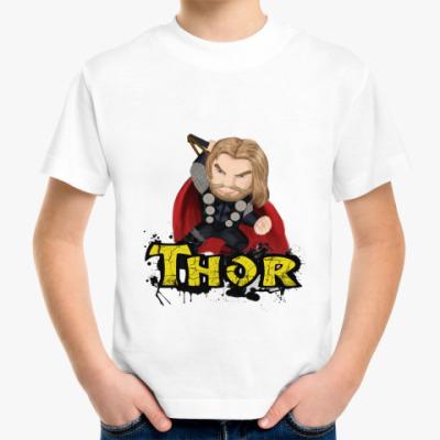 Детская футболка ТОР /THOR (мстители)