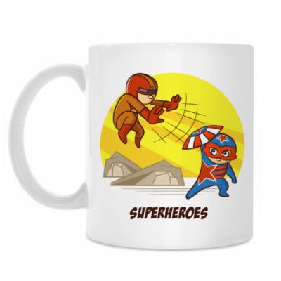 Кружка SUPERHERO BATTLE
