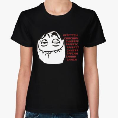 Женская футболка Pfffttch