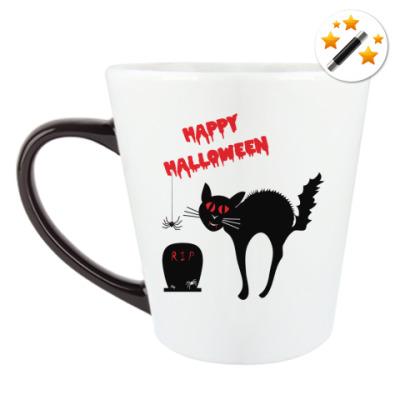 Кружка-хамелеон Ужасы Хэллоуин