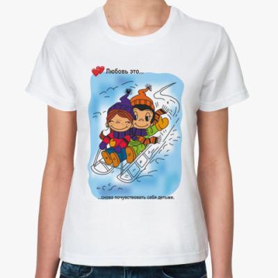 Классическая футболка LS.07.039