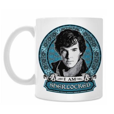 Кружка I am SHERlocked Шерлок Холмс