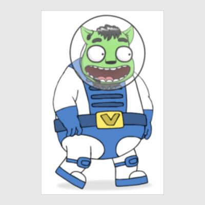 Постер Астро-пранкер