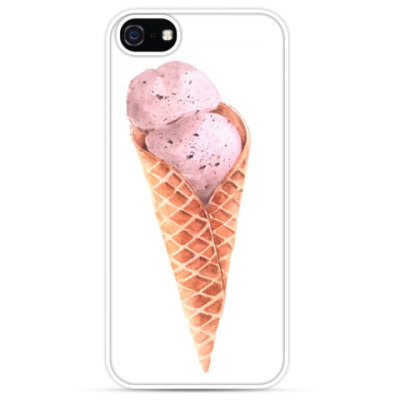 Чехол для iPhone Мороженое