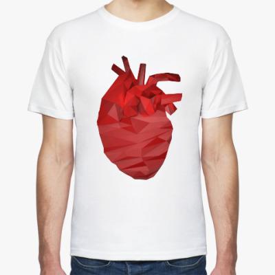 Футболка Сердце 3D