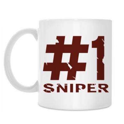 Кружка #1 Sniper